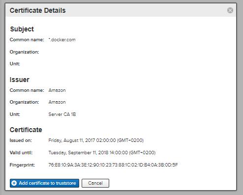 Nexus configuration for docker | BIT